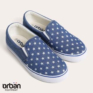 Giày sneaker nữ Urban UL1705 bò in sao