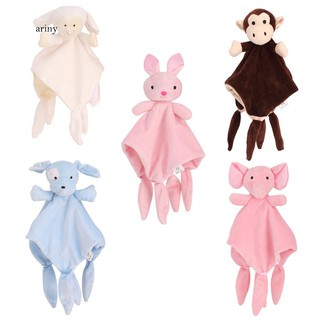♞Sleeping Towel Baby Toy Cartoon Dog Sheep Rabbit Monkey Elephant Soothing Doll
