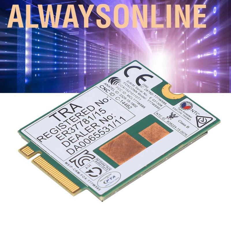 Mô đun T77W595 4G LTE 150 Mbps dành cho HP EliteBook G3/G4 (745 755 820 840 850) ProBook G2