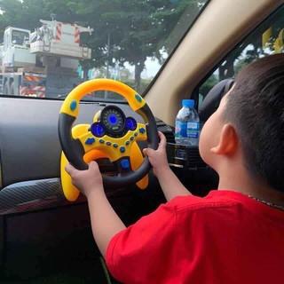 Đồ chơi trẻ em bằng nhựa ABS Vô Lăng Tập Lái Cho Bé Có 2 màu cho bé trai và gái