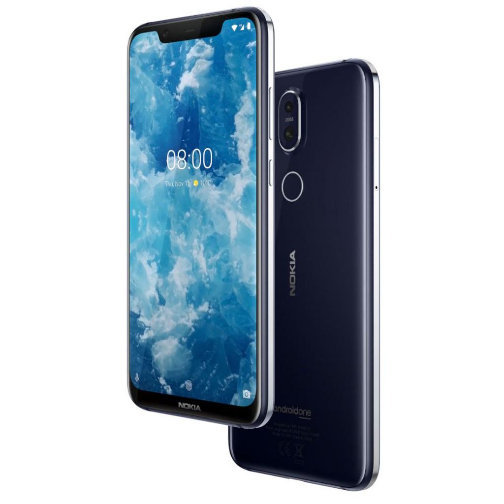 Điện thoại Nokia 8.1 - Tặng tại nghe bluetooth B5...