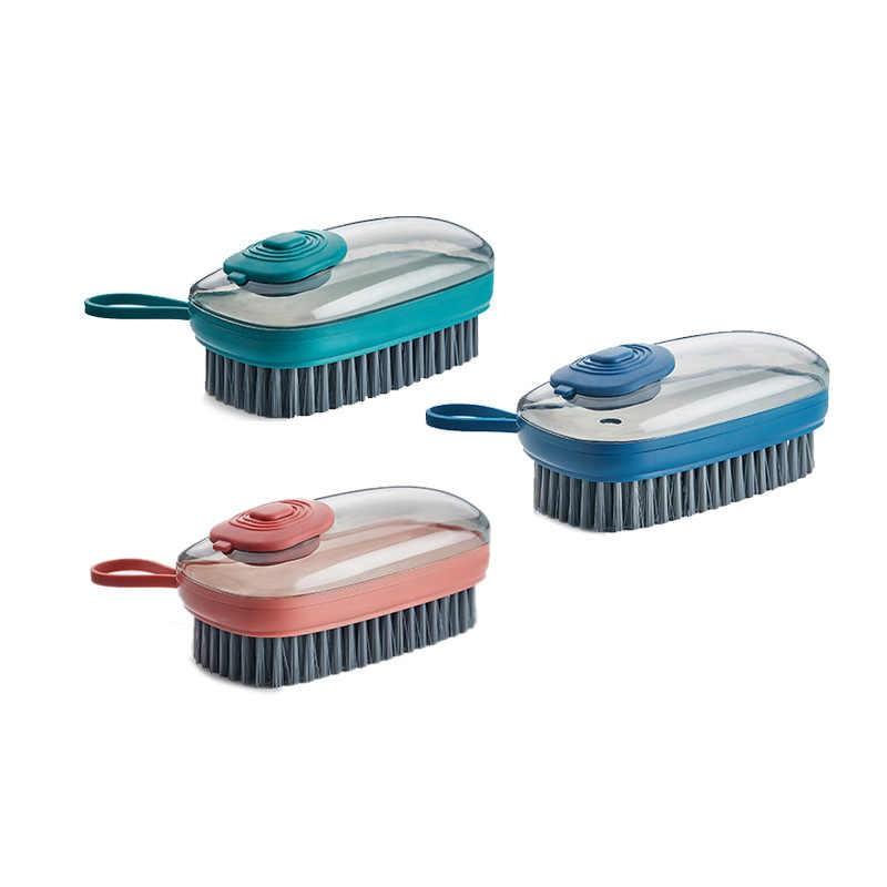 Siêu hót - Bàn chà giặt quần áo, giặt giày thông minh kèm nhả chất lỏng tự động -  bàn chà thủy lực