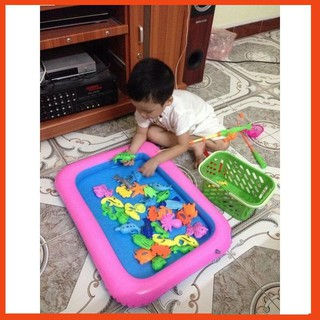 [ Giá Rẻ Nhất ] Bộ bể câu cá nam châm cho bé