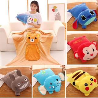 Gối Nhồi Bông Hình Pikachu Đáng Yêu