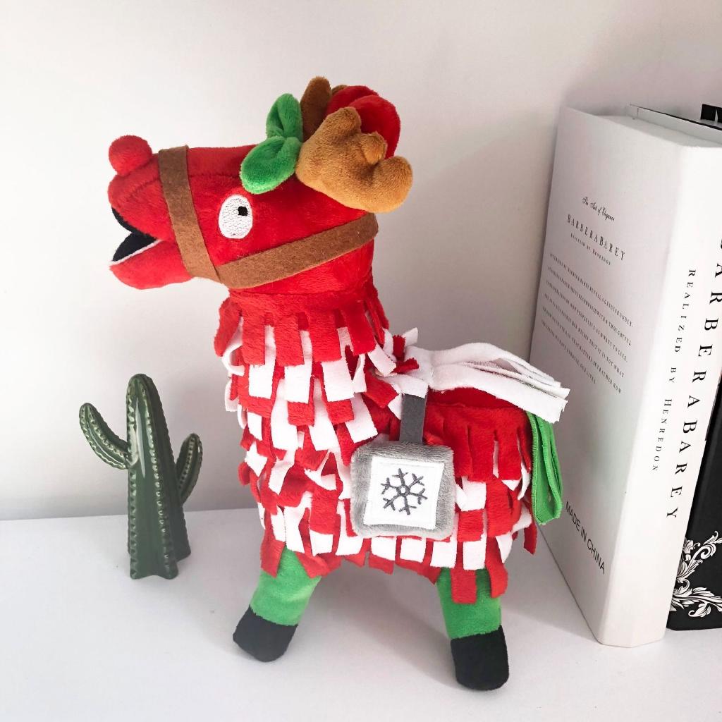 Fortnite Troll Lama Pacos Alpaca Plush Doll Christmas Gift