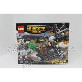 Bộ xếp hình lego quân đội QD7-4
