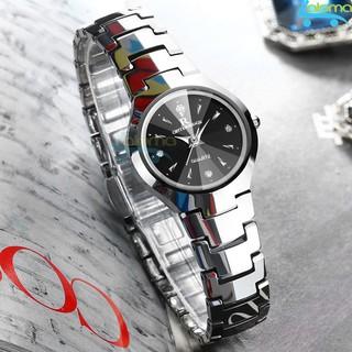 Đồng hồ nữ thời trang chống nước cao cấp R-ontheedge dây kim loại (bạc) thumbnail