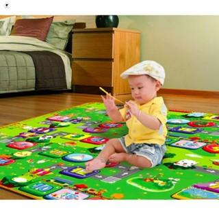 Thảm chơi 2 mặt cho bé Maboshi size 1,6mx2m chất liệu cao cấp an toàn cho bé Hàng Mới Về