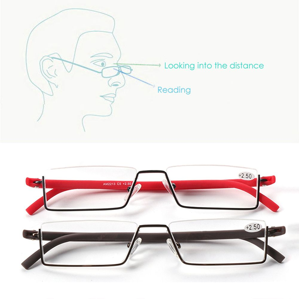 🌵CACTU🌵 Vision Care with Case Ultralight Portable TR90 Reading Glasses