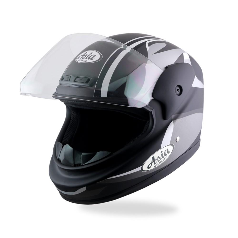 Mũ bảo hiểm cả đầu Asia MT120 chính hãng (đủ màu)
