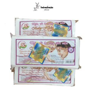 Khăn giấy khô vải đa năng BABY HIỀN TRANG 300 tờ Thỏ ngổ ngáo Official
