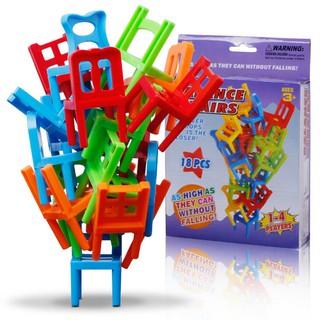 """Balance Chairs"" Board Game Children Educational Toy Balance"