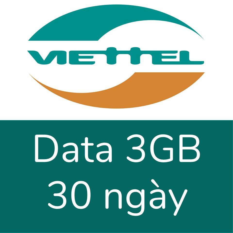 Viettel 3GB, 30 ngày
