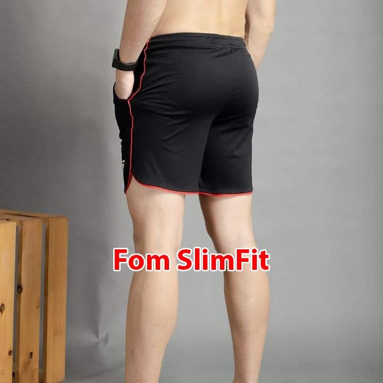 Quần tập gym nam ngắn, short thể thao bigsize, thoải mái thấm hút mồ hôi