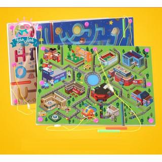 Mê cung thành phố BẢN ĐẸP| Đồ chơi phát triển trí tuệ