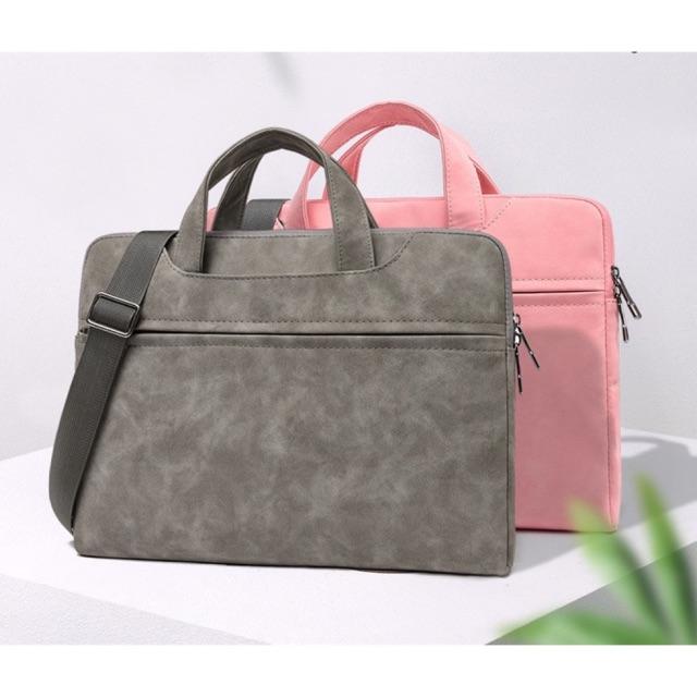 Túi xách da -chống sốc -đa năng chính hãng Fopati Giá chỉ 449.000₫