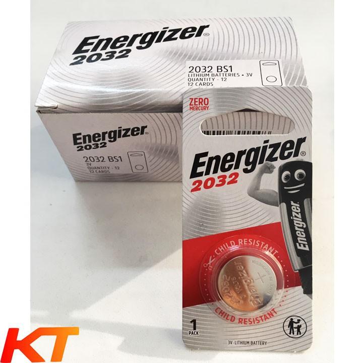 Pin cr2032 3v energizer / panasonic / duracell / camelion / maxell ( chính h