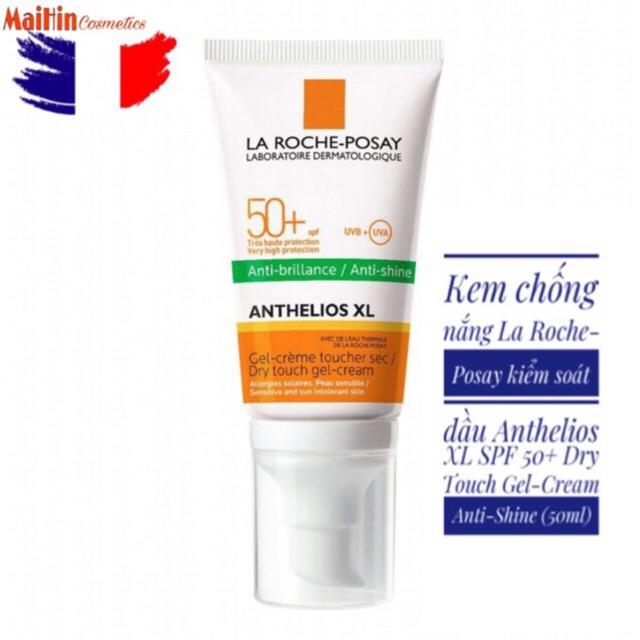 Kem chống nắng La Roche-Posay kiểm soát dầu Anthelios XL SPF 50+ Dry Touch Gel-Cream Anti-Shine (50ml) - 21714978 , 2031793816 , 322_2031793816 , 365000 , Kem-chong-nang-La-Roche-Posay-kiem-soat-dau-Anthelios-XL-SPF-50-Dry-Touch-Gel-Cream-Anti-Shine-50ml-322_2031793816 , shopee.vn , Kem chống nắng La Roche-Posay kiểm soát dầu Anthelios XL SPF 50+ Dry To