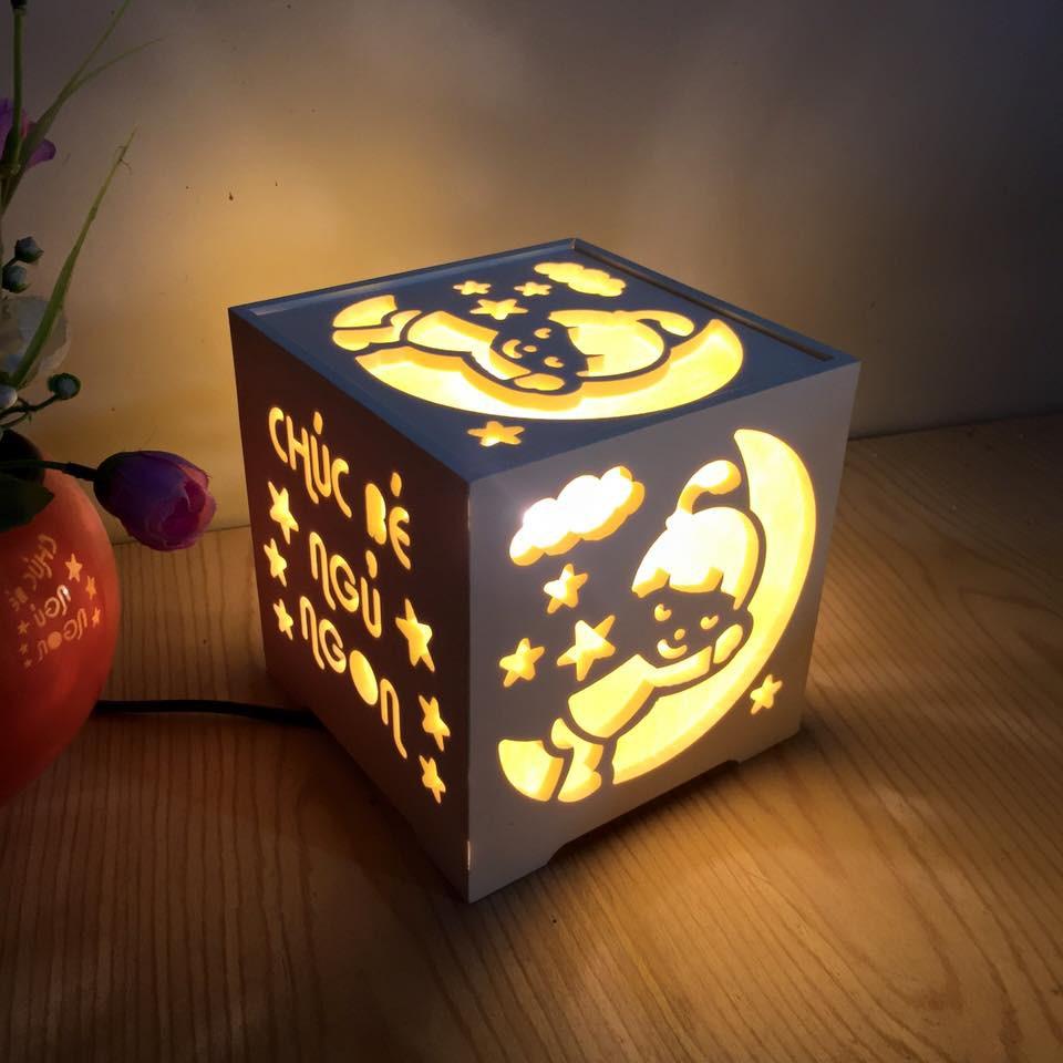 Đèn ngủ handmade cho bé, quà tặng đầy tháng, sinh nhật cho bé.