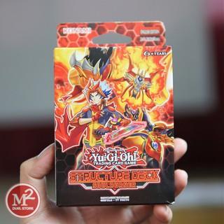 Hộp thẻ bài yugioh Soulburner Structure deck – Hàng chính hãng Konami – Nhập khẩu từ UK