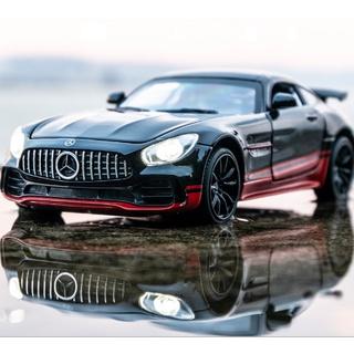 Mô hình siêu xe thể thao Mercedes có đèn, nhạc thích hợp cho việc trang trí phòng làm việc hoặc làm đồ chơi cho các bé thumbnail