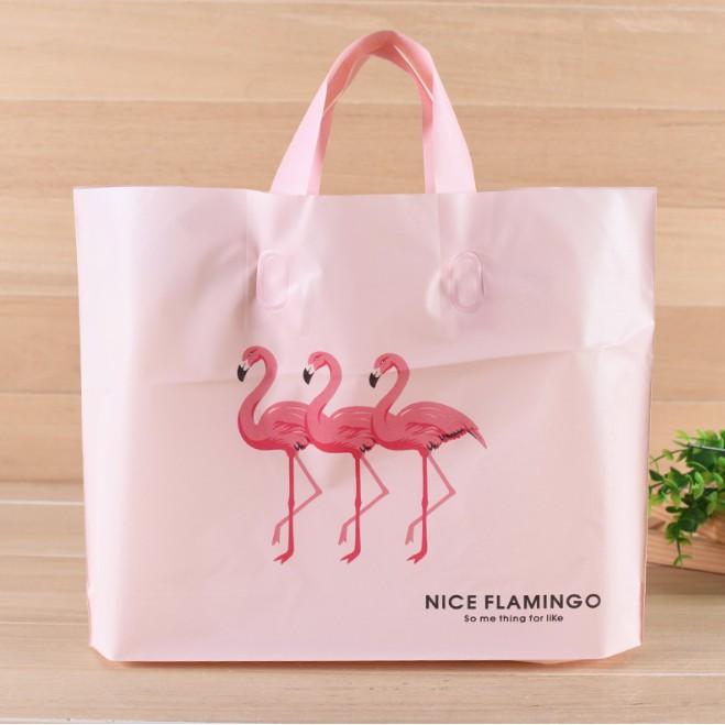 Túi nhựa Flamingo đựng quà tặng dai, bền, Ā��