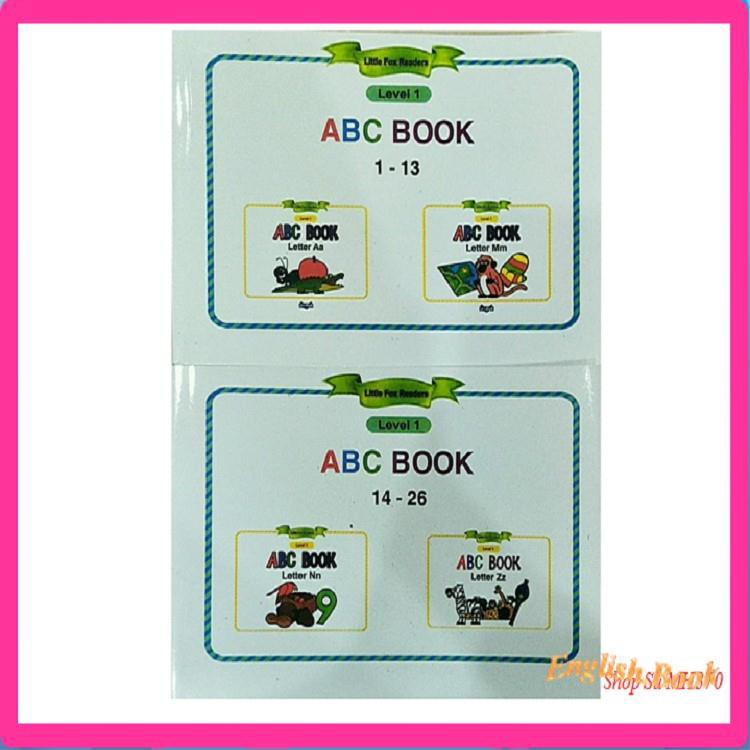 [GIÁ TỐT] [Level 1] Little Fox Reader ABC Book -cho bé 2-7t bắt đầu làm quen với T.A