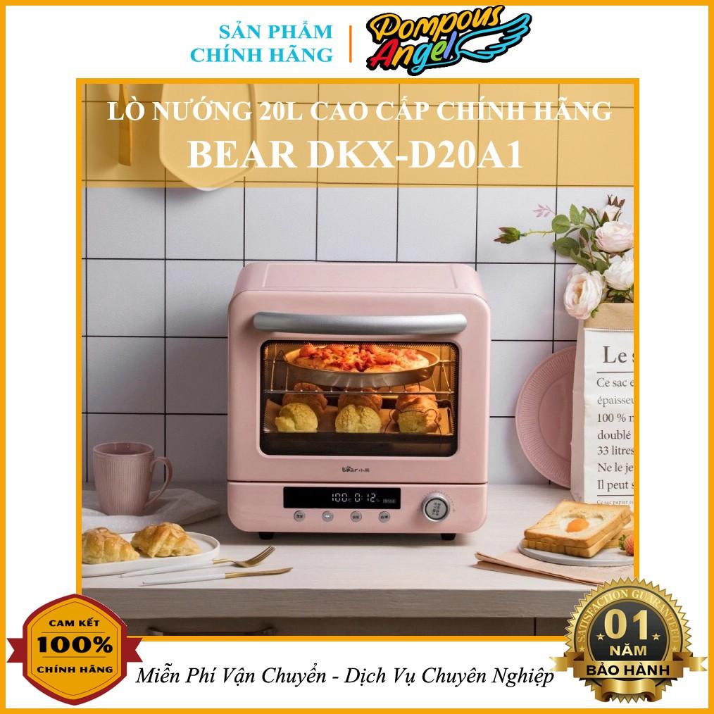 [Chính hãng] Lò nướng BEAR DKX-D20A1 20L chính hãng , bảo hành 12 tháng , có khay chứa nước giúp thức ăn không bị khô