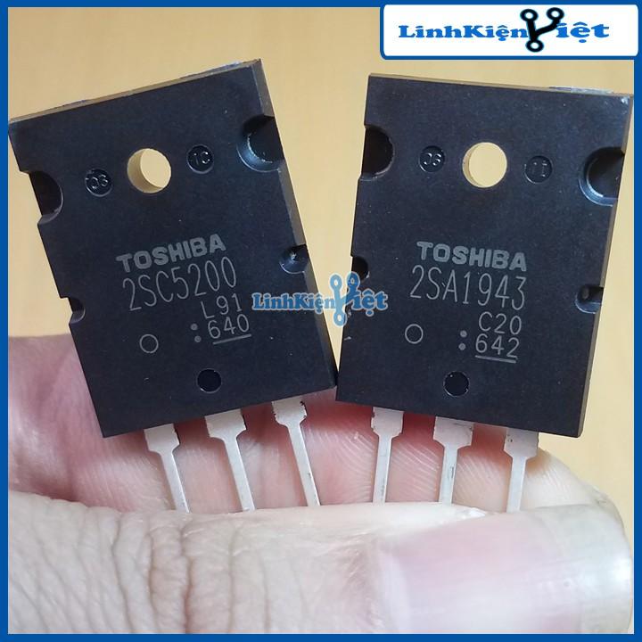 Sò Âm Ly TOSHIBA C5200+A1943 (1 Cặp)