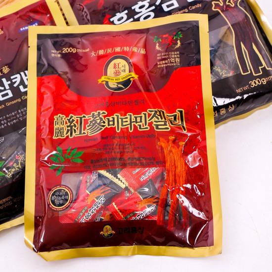 Kẹo Hồng Sâm có đường Hàn Quốc