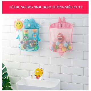 Túi vải lưới đựng đồ chơi trong nhà tắm cho bé_babyvnshop1