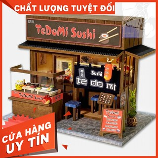 [New]Mô Hi nh Lă p Ra p Qua n Sushi Tedomi Nhâ t Ba n - QA01 ( Tă ng Keo Siliglue 30Ml )[Ha ng Co Să n]