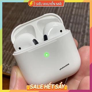 Tai Nghe Bluetooth Airpod Pro 4 Bản Quốc Tế Cao Cấp Định Vị Đổi Tên Tai Nghe Không Dây Dùng Cho IOS - Android thumbnail