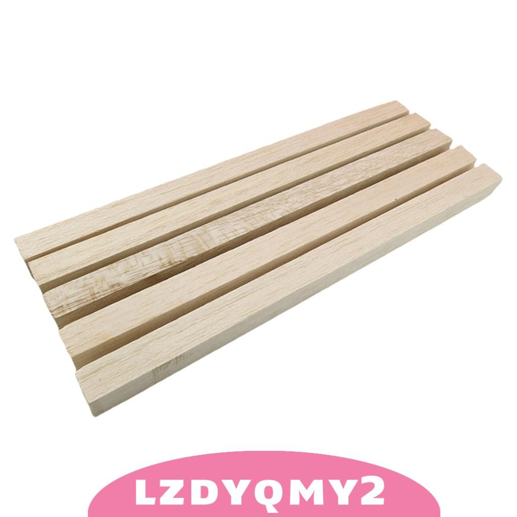 Curiosity 5pcs/set 330mm Strips Wood Sticks for Building DIY Crafts Photo Props Accs
