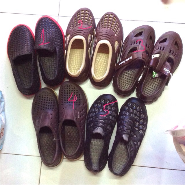Giày nhựa siêu nhẹ nam - 3321129 , 1057634102 , 322_1057634102 , 60000 , Giay-nhua-sieu-nhe-nam-322_1057634102 , shopee.vn , Giày nhựa siêu nhẹ nam