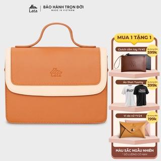 [Mã WABRLT15 giảm 10% đơn 99K] Túi đeo chéo nữ thời trang LATA HN80 nhiều màu thumbnail