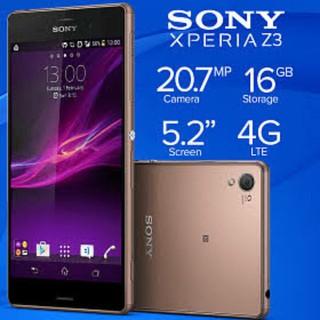 Điện thoại Sony Xperia Z3 Rom 32G  Sony Xperia Z3 ram 3G/32G mới - Có Tiếng Việt . Chơi Game mượt !!!