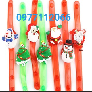 Đồng hồ phát sáng Noel- Vòng tay Noel có đèn thumbnail