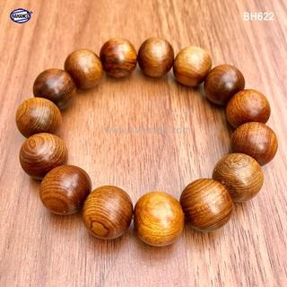 Vòng tay gỗ Tô Hợp Bách cổ thụ thơm ngọt - vân gỗ đẹp - Mang lại tài lộc bình an (BH622) thumbnail