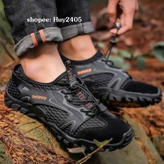Giày Đi Phượt – Leo Núi – Trekking, Lội Suối – Nhanh Khô Fashion