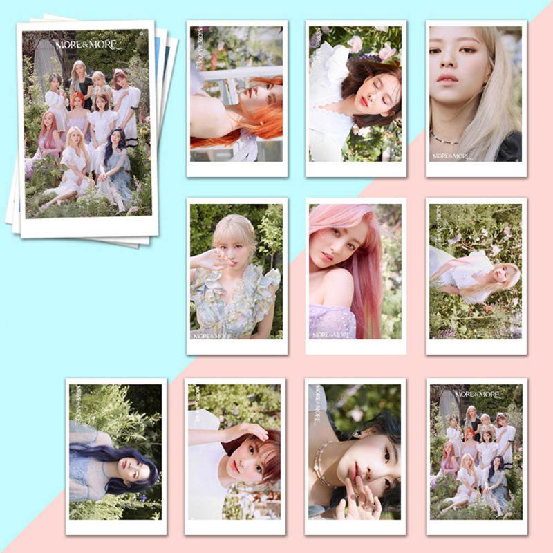 Set 10 Tấm Thẻ In Hình Thành Viên Nhóm Twice Cho Fan K-pop