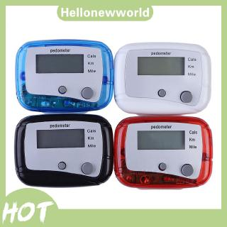 Multifunction Pedometer Walking Distance Calorie Passometer Counter thumbnail