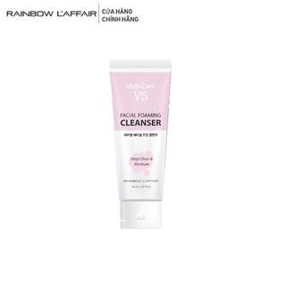 Sữa rửa mặt dịu nhẹ kiềm dầu, cân bằng độ ẩm Rainbow L affair Multi-Care V5 Facial Foaming 150ml thumbnail