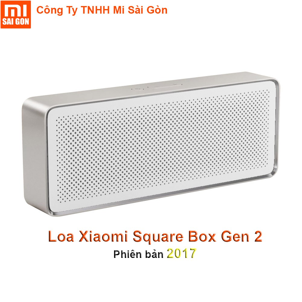 Loa Bluetooth Xiaomi Square Box Gen 2 - Phiên bản 2017
