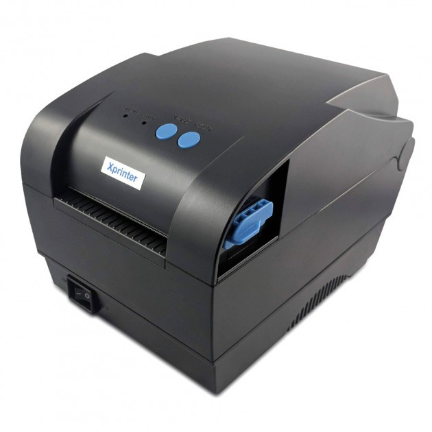 Máy in mã vạch, tem nhiệt khổ 80mm (2 tem) Xprinter XP-365B
