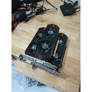 Card màn hình Colorful GeForce GTX1050Ti LP 4G chuyên cây bo lùn