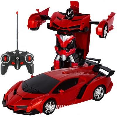 Xe ô tô biến hình thành Ro Bot – có điều khiển từ xa