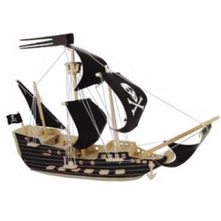 Đồ Chơi Lắp Ráp Gỗ 3D – Mô Hình Thuyền Cướp Biển