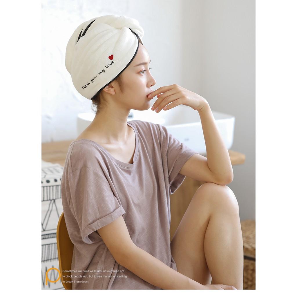 [ HÀNG CAO CẤP ] Mũ Ủ Tóc Siêu Tiện Lợi Giá Thành Lại Hạt Rẻ Cho Chị Em
