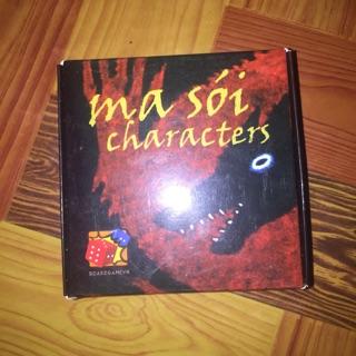 Ma Sói Characters ( Bản BGVN ) 2nd ( 2 ván )